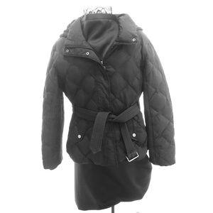 Johnston & Murphy Puffer Jacket Coat Black Sz L